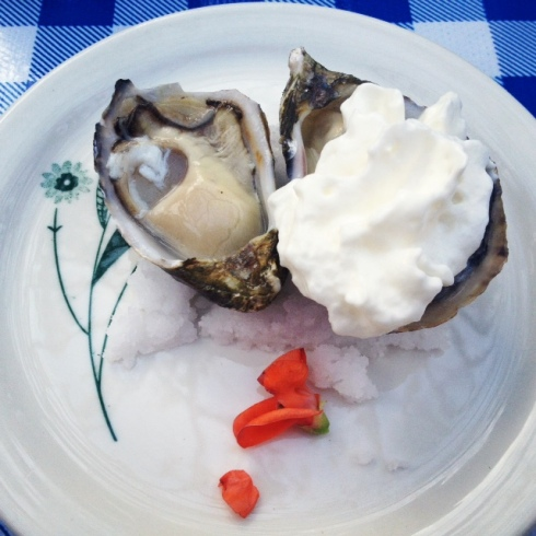 Oysters and Rose Water