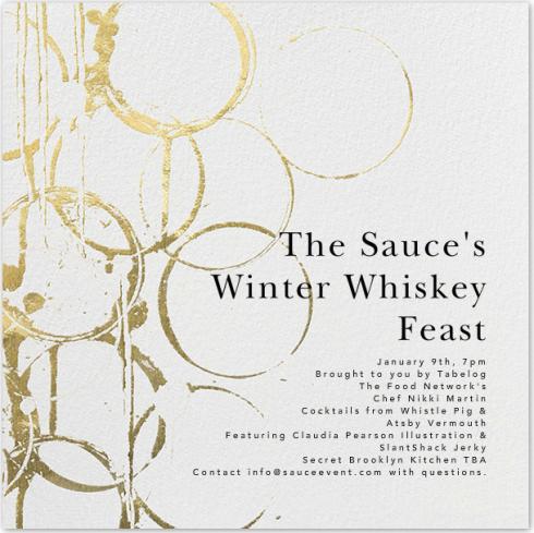 Winter Whiskey Feast